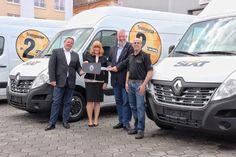 50 neue Transporter für Sixt – Renault Trucks verstärkt die Fahrzeugflotte des Mietwagenanbieters