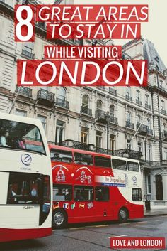 The best areas to stay in while in London. Safe and interesting neighborhoods in London that you'll love staying in. Book your hotel, Airbnb or hostel in these London areas.