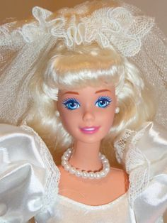 1992 Romantic Bride Barbie Doll Mint Deboxed with All Accessories   eBay