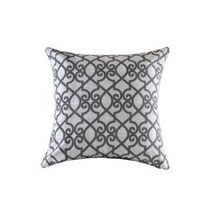 Madison Park Crystal Printed Fretwork 3M Scotchgard Indoor/Outdoor Pillow 26-inch