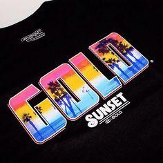 @Eli Soto Sunset tee coming soon! #goldgoons