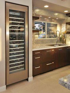Store Vino Within Reach - 15 Style-Boosting Kitchen Updates on HGTV