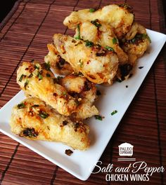 Paleo Salt and Pepper Chicken Wings (Easy and Delicious!) - PaleoCupboard.com