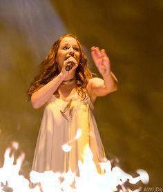 Oonagh bei ihrem Auftritt in der Westfalenhalle. Foto: AWi