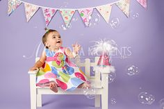 baby's 1st birthday photo shoot ideas