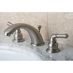 Shop for Satin Nickel Drip-Free Widespread Bathroom Faucet. Get free shipping at Overstock.com - Your Online Home Improvement Outlet Store! Get 5% in rewards with Club O!