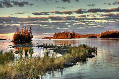 Isle Royale National Park, MI--Johnson Island Reef Sunset II by yooper1949, via Flickr