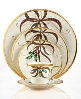 Lenox  Holiday Nouveau Ribbon Collection