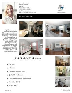 TODAY 2-4PM 13104 - 132 Avenue Corner Unit, Open House, Condo, Floor Plans, The Unit, Flooring, How To Plan, Houses, Homes