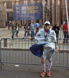 Become inspired by one runner's story! When Rhonda Foulds was diagnosed with Parkinson's Disease, she chose to not let her disease hold her back and began running marathons. And now, she is running the Boston Marathon!