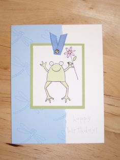 Hoppy Birthday card by Michelle Dixon, Stampin' Up!