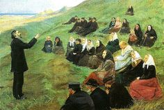 Anna Ancher (1859-1935): A Missionary Meeting, 1903