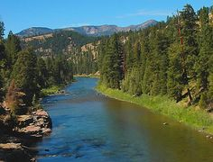 "Blackfoot River near Missoula Montana  ---I would love to live here one day.  from my favorite books ""A River Runs Through it"""