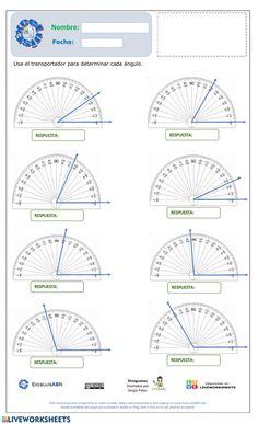 Ficha online de Geometría para 4° año básico. Puedes hacer los ejercicios online o descargar la ficha como pdf. Worksheets, Map, Education, Classroom, Green, Math Activities, Mental Math Strategies, Fifth Grade, School Children
