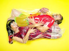Community Post: 12 Japanese Couples Wrapped In Plastic Bags