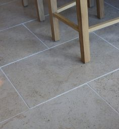 Zenna Limestone in a honed finish. These neutral stone tiles look great in a modern or traditional environment.