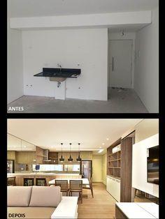A transformação de um apartamento by #quitetefaria