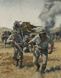 """""""Ha-Go Banzai"""" Ken Smith. Ataque japonés sobre el aeródromo de Peleliu el 15 de Septiembre de 1.944. http://www.elgrancapitan.org/foro/viewtopic.php?f=12&t=17519&p=926659#p926659"""