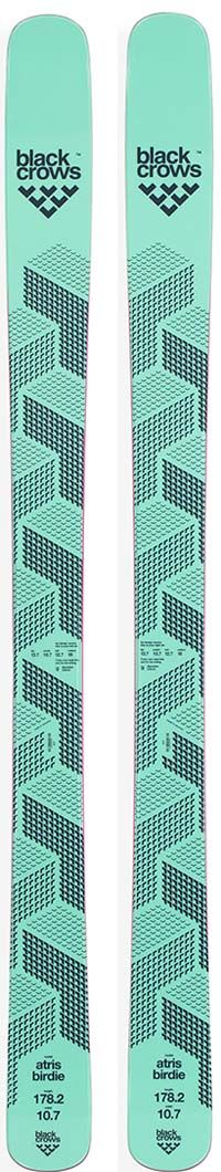 Topsheets of 2016 Black Crows Atris Birdie Skis For Sale