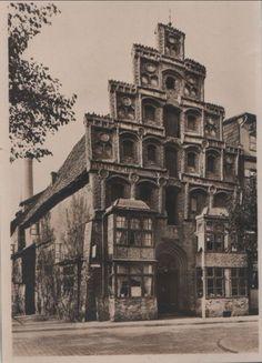 1929 Lüneburg - Giebelhaus in der Lünertorstraße ☺