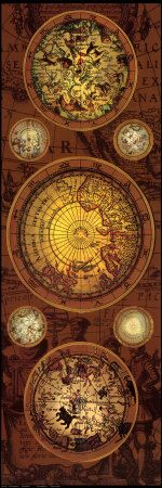 Where shall we travel to? ~ Antique Map, Orbis Geographical