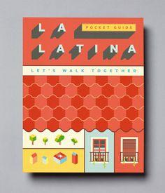 La Latina · Madrid map on Behance