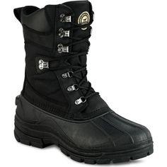 2861 Irish Setter Men's SnowHound Pac Hunting Boots - Black