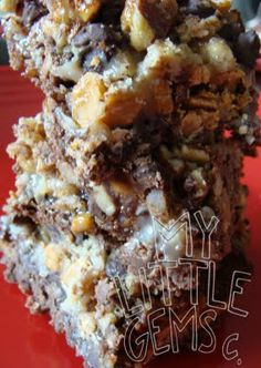 My Little Gems: Seven Layer Bars with a Brownie Mix