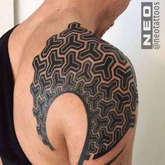 Neo Tattoos – De jolis tatouages géométriques | Ufunk.net