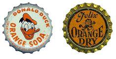 vintage bottle caps have great potential.