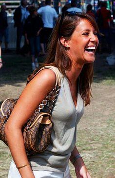 Princess Marie of Denmark. Great smile.