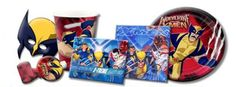 Wolverine & X-Men Party Supplies from www.hardtofindpartysupplies.com #wolverine #xmen