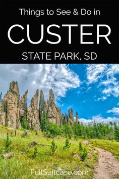 Amazing things to do in Custer State Park in the Black Hills in South Dakota. Includes suggested 1 day itinerary, practical tips, lodging, and places to see nearby. Find out! South Dakota Vacation, South Dakota Travel, Custer State Park, Badlands National Park, National Parks, Vacation Trips, Vacation Spots, Vacation Ideas, Vacations