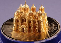 """3) FABERGE eggs__Theo Fabergé __""""Russian Cathedral Egg"""