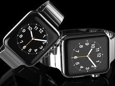Goldgenie mit einer Luxusversion der Apple Watch. Für weitere Infos: www.proudmag.com