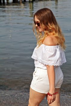 How To Wear Head-To-Toe White in Summer