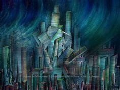 "My #art🎨 #lastday of #atlantis #illustration for my #scifi story ""Ameynra &Atlantis"" #tidalwave #finalday #catastrophe #tsunami #atlantiscivilization #watercolor #painting #watercolorpainting #sofiagoldberg #artistsoninstagram #sciencefiction #skyscrapers #lostcivilization #последнийдень #атлантида #волны🌊 #акварель #рисунокакварелью #научная_фантастика #софияголдберг #artofsofiagoldberg"