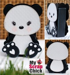 Sweet Panda Treat Bag: click to enlarge