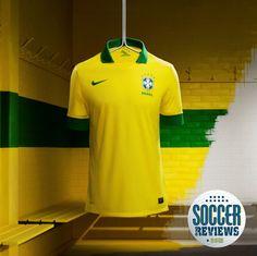 a8f1f43dff Brazil 2013 14 Nike Home Kit Football Brazil