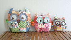 Patchwork owls :) love them!