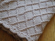 Lattice Carriage Blanket