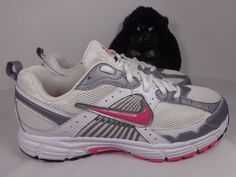 dbc39e6e7 Kids Nike Air Dart 7 Girls Running Training shoes size 6 Youth 354820-161
