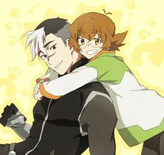Shiro and Pidge