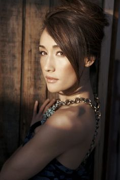 Maggie Q as Judith Henderson from Spirit Bound by Christine Feehan