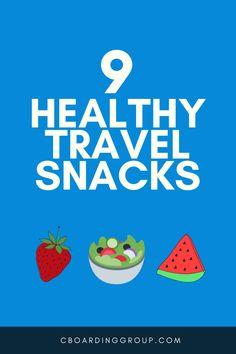 That's the reaction I want when I hand out a travel snack to my kids (or grab one for myself! Whether I am on vacation with the family or on another business trip I get snacky. Here are 9 healthy (and tasty) travel snacks! Healthy Travel Snacks, Road Trip Food, Travel Size Toiletries, Nut Allergies, Travel Workout, Getting Hungry, Cool Cafe, Eat Smart, Travel Tips