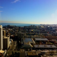 View from hotel in San Francisco