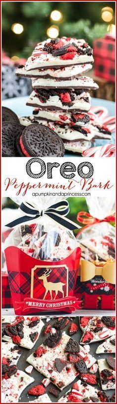 Oreo Peppermint Bark is a great party food that you can make ahead that all your guests are sure to love.