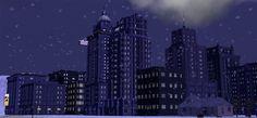 Sims 4 City Living and Misty-Fluff's Bridgeport Light Shells for TS2 - NL.