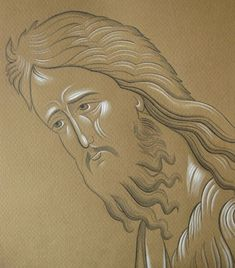 Frescele lui Alexandru Soldatov (Partea a Byzantine Icons, Byzantine Art, Human Life Cycle, Best Icons, John The Baptist, Cartoon Icons, Painting Process, Orthodox Icons, Religious Art