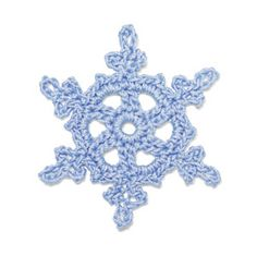 StitchFinder : Crochet Snowflake: Nevada : Frequently-Asked Questions (FAQ) about Knitting and Crochet : Lion Brand Yarn
